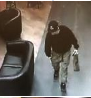 Subway robber turned away by clerk.