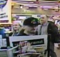Robber who took cash from a Rite Aid cash drawer.
