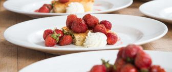 Strawberry shortcake for a good cause at Hanover Street Chophouse