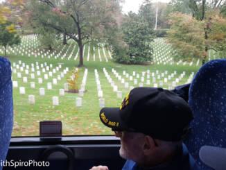 Alrington National Cemetery Honor Flight tour