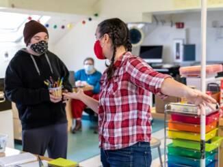 Elizabeth Cardine, lead teacher at Making Community Connections